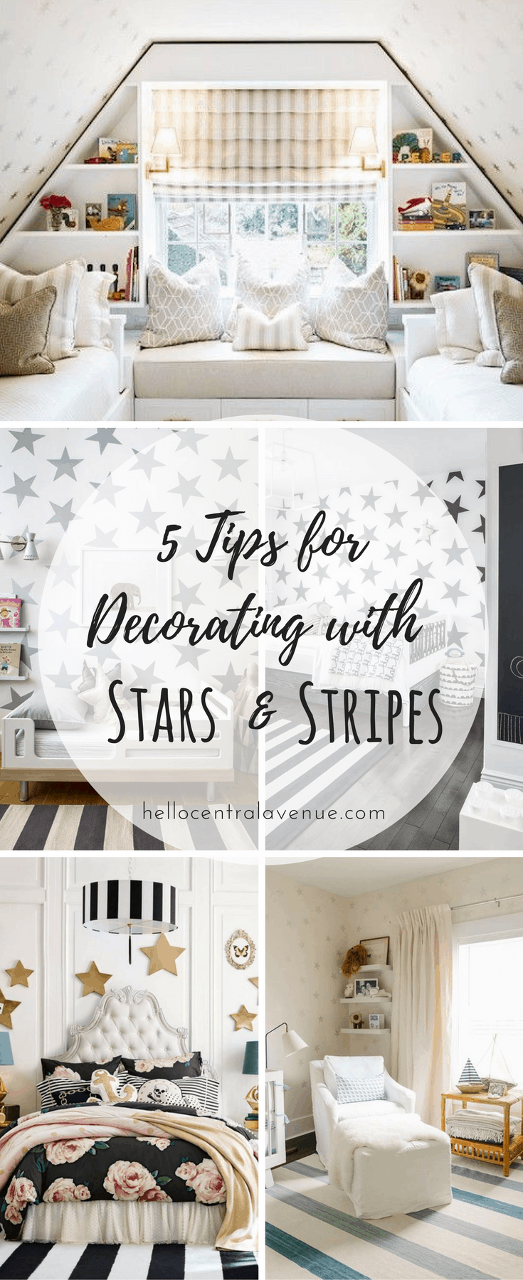 5 Tips for Decorating with Stars and Stripes