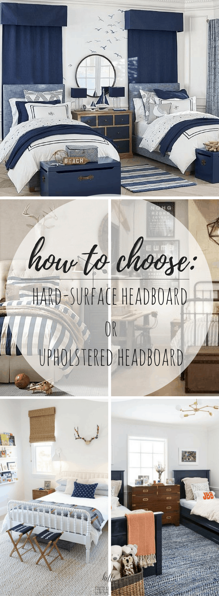 How To Choose Hard Surface Headboard Or Upholstered Headboard Hello Central Avenue