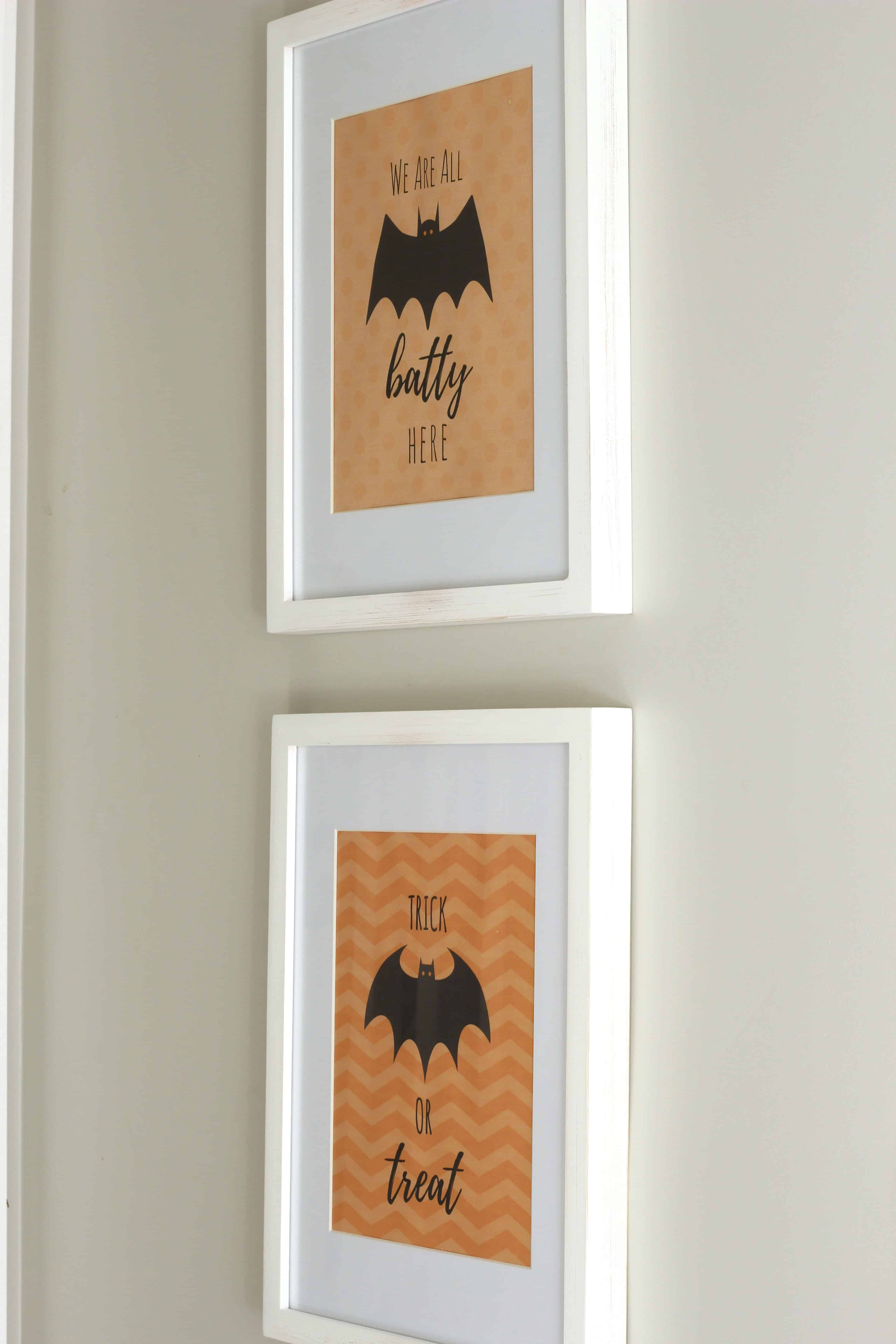 Cheap Halloween decorations-FREE Prints
