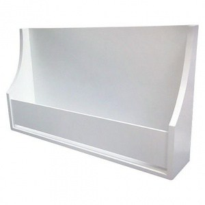 Pillowfort white bookshelf