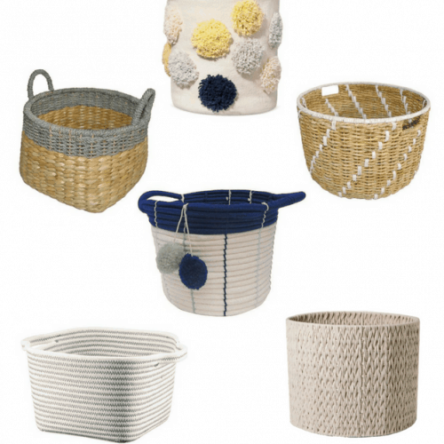 Storage bins don't have to be a cube. Here are some cute alternatives to the storage cube.
