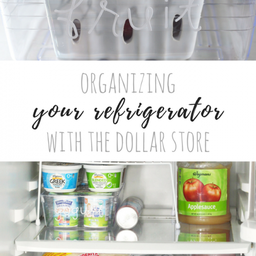 Start with something small, like your refrigerator, to kickstart your spring cleaning. Clean and organize it, so that it is more functional.