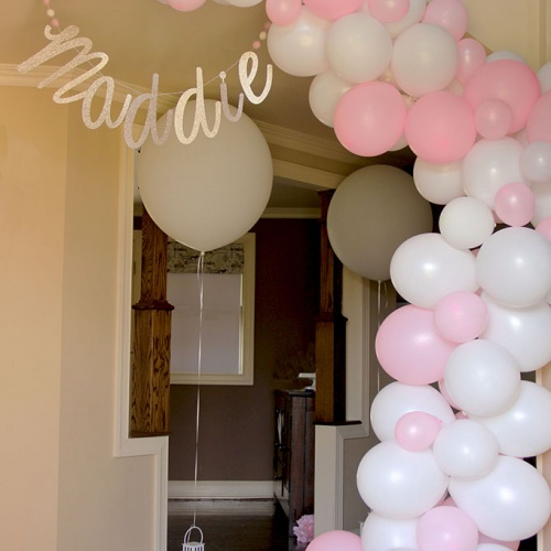 How to Make an Easy Balloon Garland