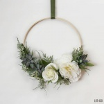 Hoop Wreath for above changing table Lot 450 Shop on Etsy