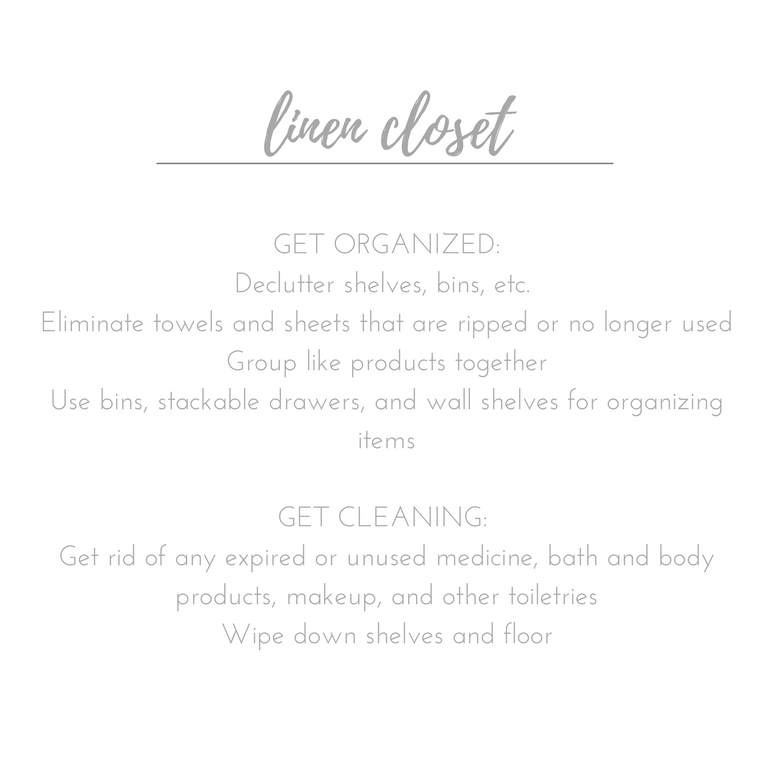 Not everyone has hours to devote to decluttering and organizing their home. Following this easy cleaning checklist will make things go quickly and smoothly.