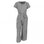 Cosygal striped jump suit