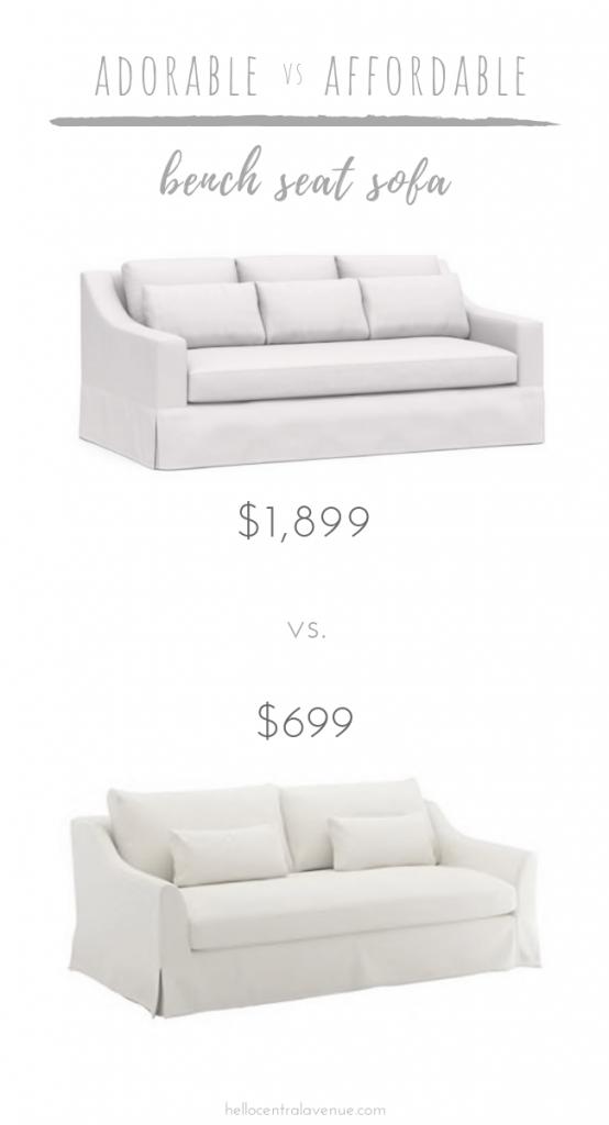Bench Seat Sofas