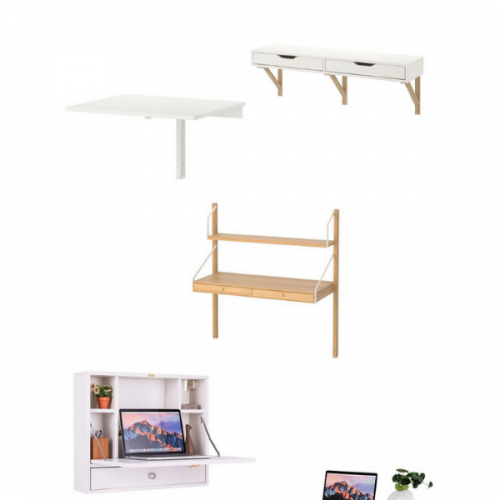 Wall Desk: To Buy or DIY?