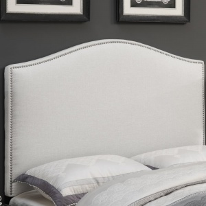 These stunning wood and fabric headboards with nailhead details are difficult to tell apart! However, theirprices are not! With a savings of over $1,400, you canachieve the same high-end look for WAY less money!