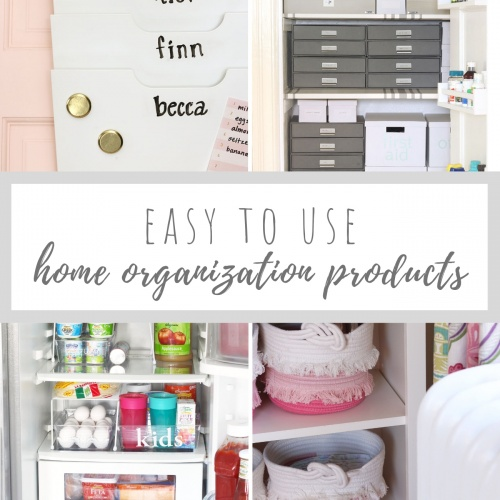 Easy to Use Home Organization Products