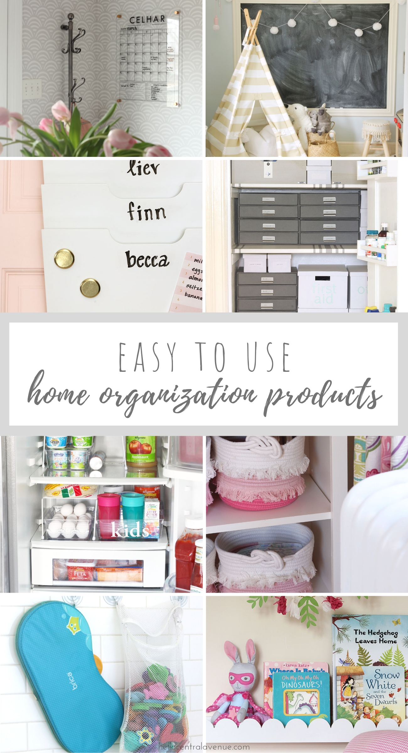 Come see the most effective home organization products to help you get organized and stay organized.