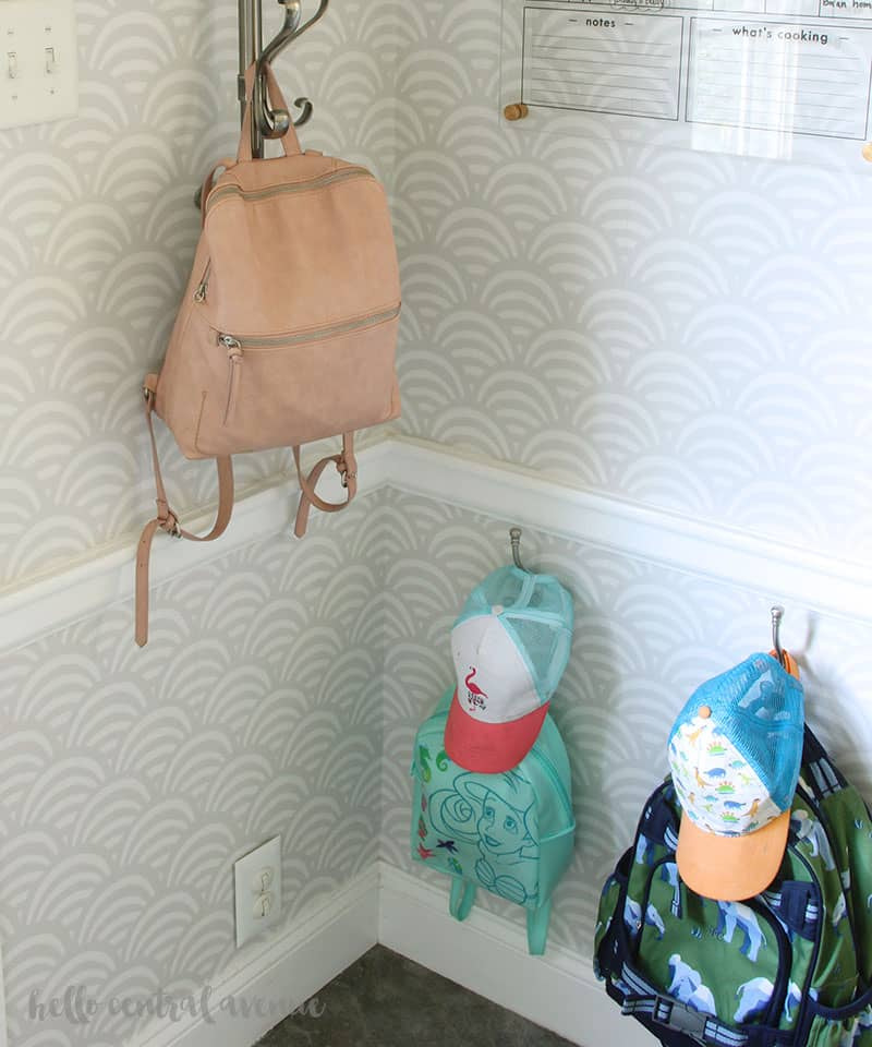 Start the school year off right by using these 5 easy back to school organization ideas for your home! Designate a place for backpacks!