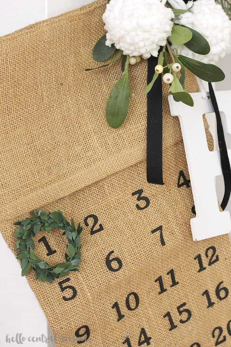 Try making your own DIY kids advent calendar that is easy and will make Christmas memories for years to come!