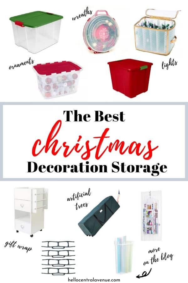 The best Christmas decoration storage ideas to get you organized in the New Year!
