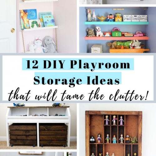 12 DIY Playroom Storage Ideas to Keep You Clutter-Free