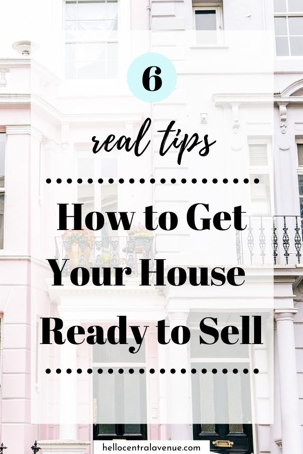 6 real tips to get your house ready to sell quickly and to maximize your profit.