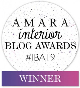 Amara Interior Blog Awards Winner's badge