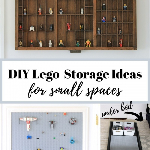 DIY Lego Storage Ideas for a Small Space: Week 4