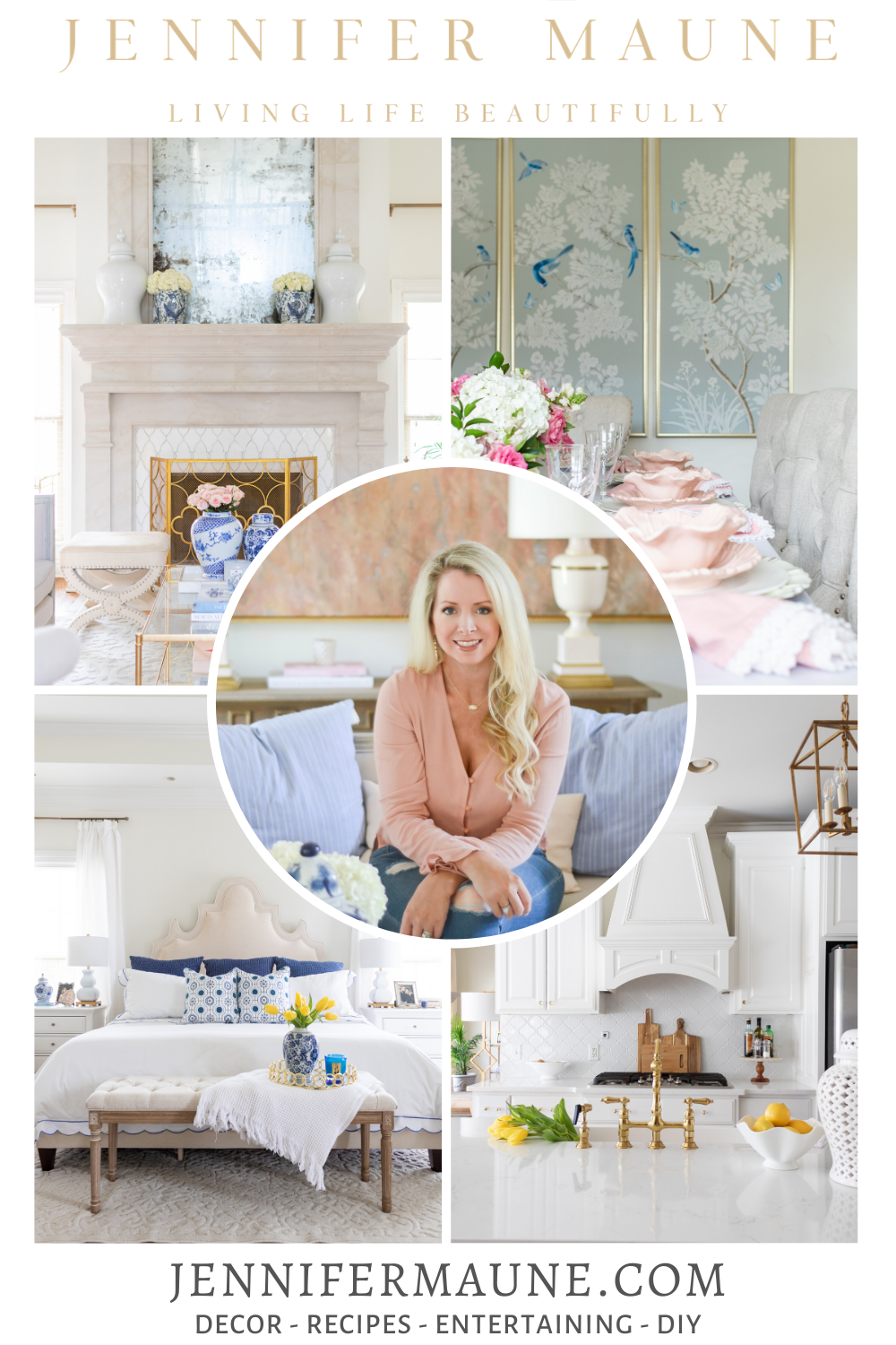Light and bright home decor bloggers to get to know.