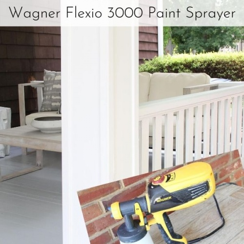 Painting Your Porch with a Wagner Paint Sprayer