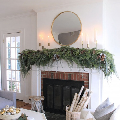 How to Make Faux Garland Look Real